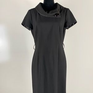 Tahari black dress size 8